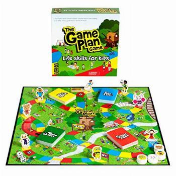 The Game Plan Game Life Skills for Kids, Board Game, Kids