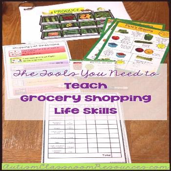 This functional life skills activity is perfect for any special education environment. This pack in