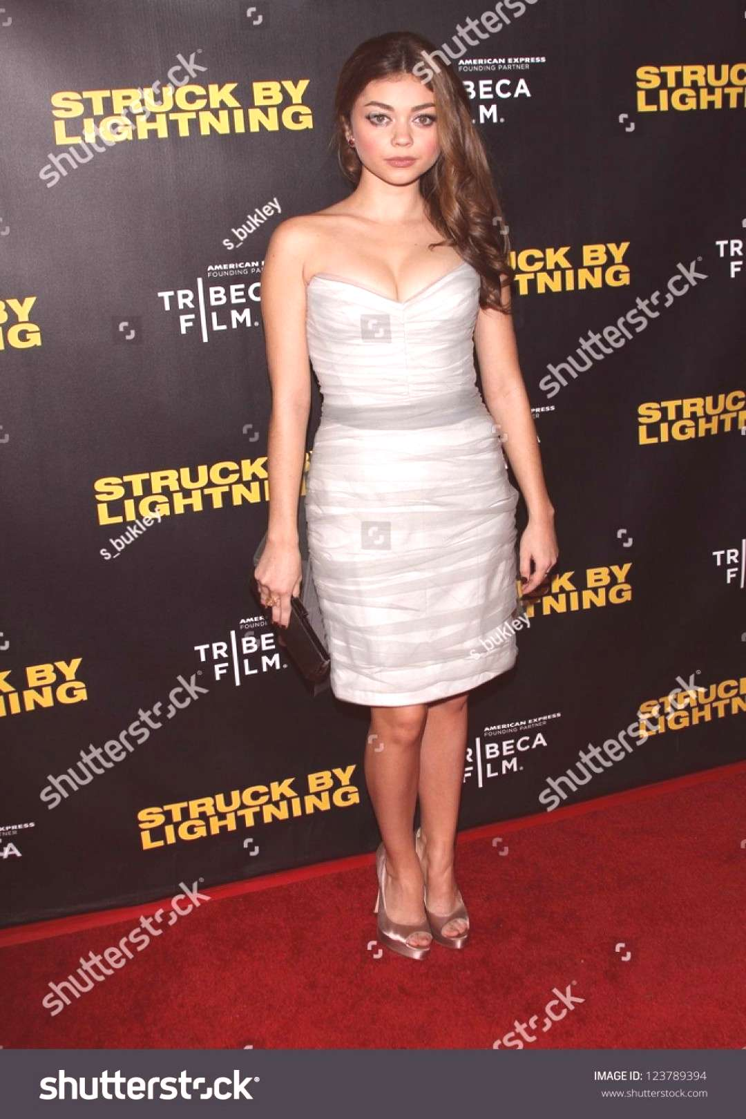 Sarah Hyland at the quotStruck By Lightningquot Los Angeles Premiere, Mann Chinese 6, Hollywood, CA 0